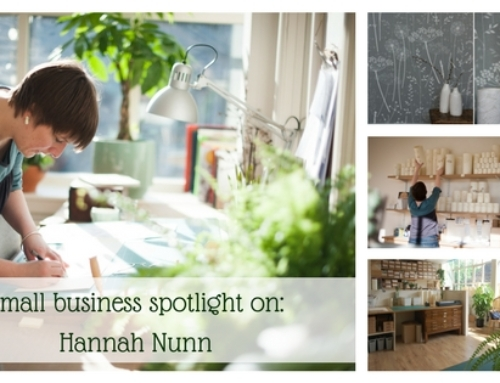 Small business spotlight on: Hannah Nunn