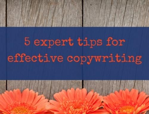 5 expert tips for effective copywriting